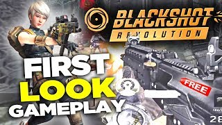 BlackShot Revolution: First Look Gameplay Review! (Free to Play FPS)