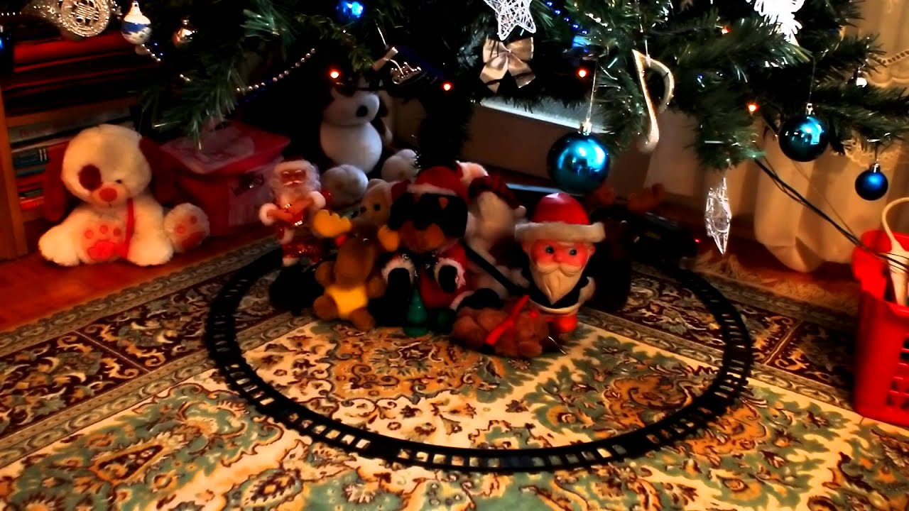 toys under christmas tree 2 free hd stock footage youtube - Free Christmas Toys