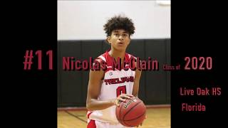 Gambar cover 6'5 Guard Nicolas McClain High School highlight 2018-19