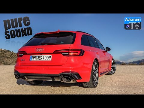2018 Audi RS4 (450hp) - pure SOUND (60FPS)