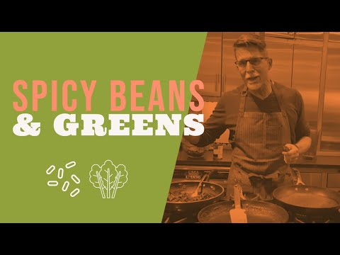 Spicy Beans and Greens