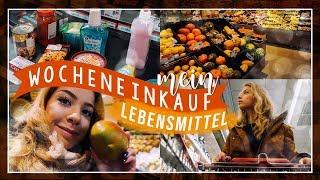 MEIN WOCHENEINKAUF - LEBENSMITTEL (Rewe, Netto) // JustSayEleanor ♡ (Student, What I eat)