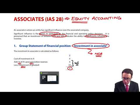 Associates (IAS 28) - Introduction - ACCA Financial Reporting (FR)