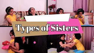 Types of Sisters || Funny video || SaanveeKhushee