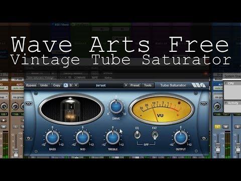 FREE Wave Arts Tube Saturator Vintage Plugin AAX