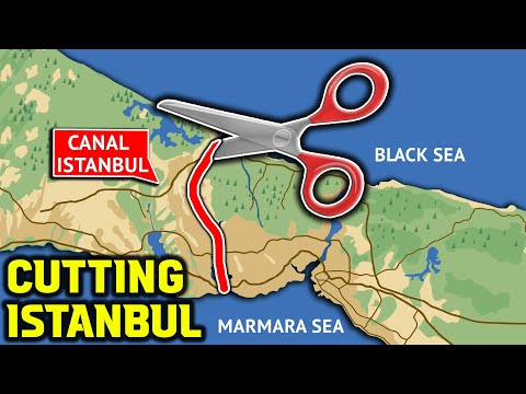 Canal Istanbul Project Began to Divide Istanbul