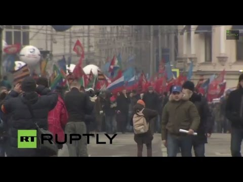 LIVE: Anti-Maidan protesters rally in Moscow