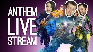 LIVE Anthem! Outside Xbox plays Anthem Live on Xbox One 🤖🤖🤖 thumbnail