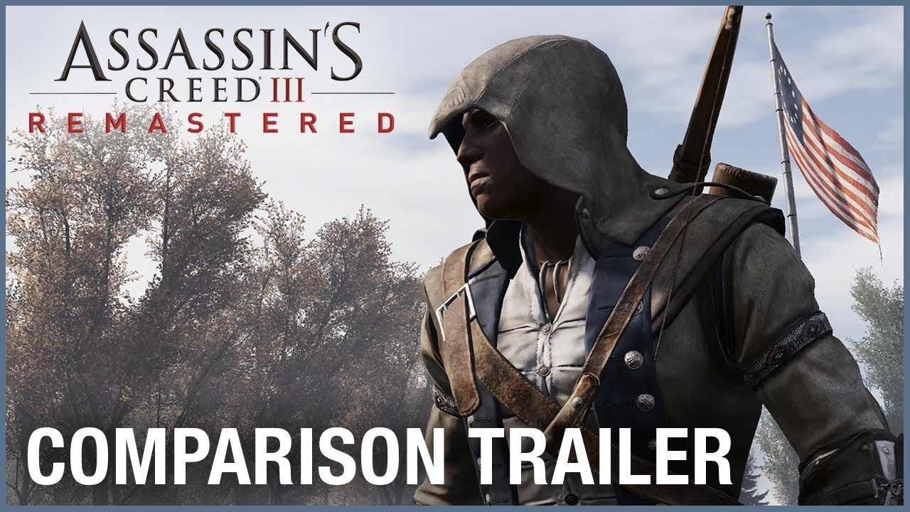 06b7413cb9c Assassin s Creed III Remastered  Comparison Trailer