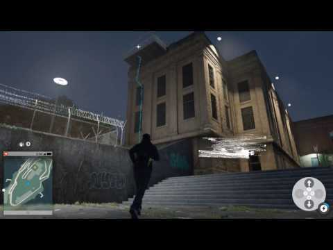 Watch Dogs 2 Free Running Xbox One Parkour Gameplay On Alcatraz!