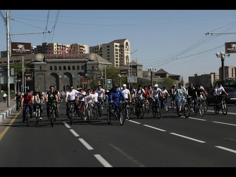 GREEN WAY: Opening Of First Ever Bike Stations In Yerevan