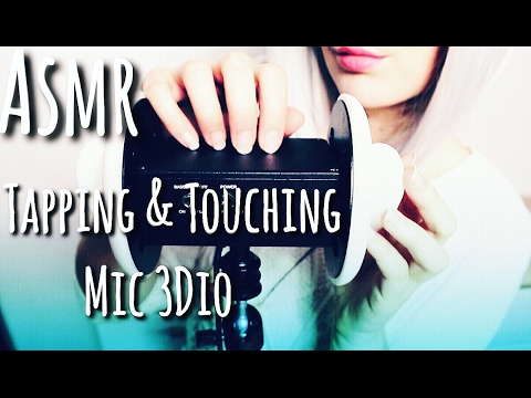 ASMR Tapping et Touching Micro 3DIO - wood scratching  - Intense Trigger ears