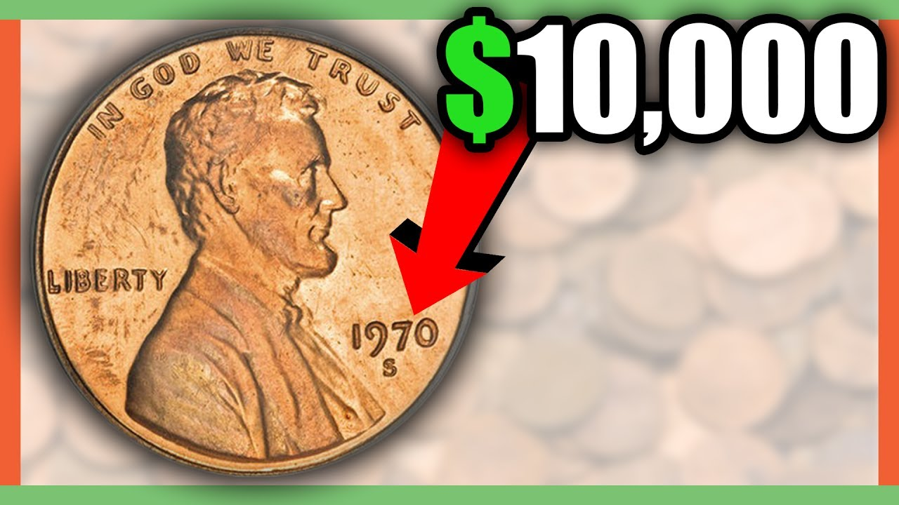 $10,000 RARE PENNY COINS TO LOOK FOR - RARE ERROR PENNIES WORTH MONEY!!