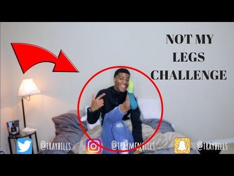 NOT MY LEGS CHALLENGE FT IAMJUSTAIRI | TRAYBILLS thumbnail