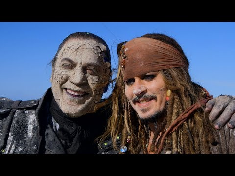 'Pirates of the Caribbean: Dead Men Tell No Tales' Behind The Scenes