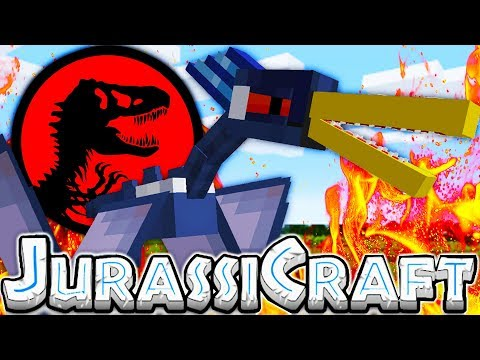 THE CUTEST DINOSAUR EVER - MODDED MINECRAFT DINOS JURASSIC PARK #13