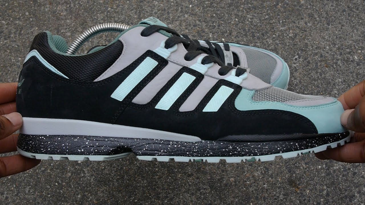 Sneaker Freaker x Adidas Torsion Integral S (Mint-2013) Review & On Feet  *Crepe City Pickup*