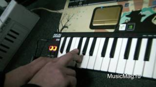 musicMag.ru: Akai LPK25 MIDI Keyboard video review
