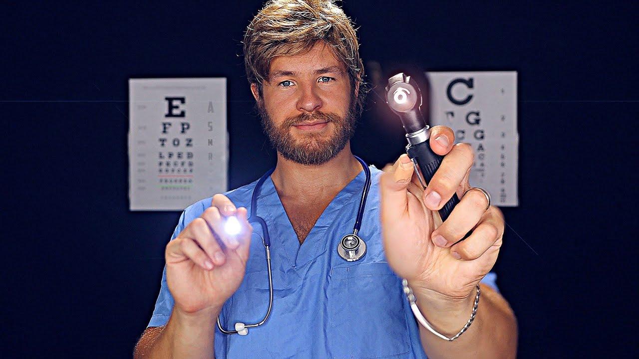 Friendly Doctor's Eye Examination [ASMR]