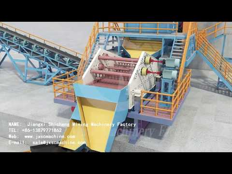 Diamond Washing Plant 3D Animation