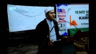 Ucapan Ketua Pemuda PAS Sabah di Kg Pasir Putih Tawau