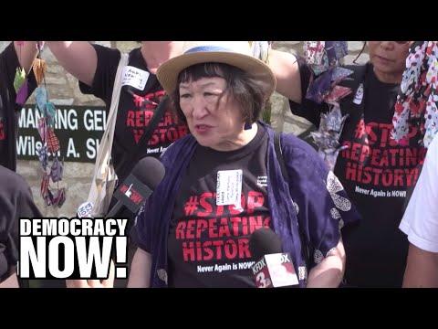 Japanese-American Internment Survivors Protest U.S. Treatment Of Migrants