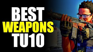 The Division 2 NEWS! BEST TU10 WEAPONS FOR BURST & SUSTAIN DPS! STAT BREAKDOWN!