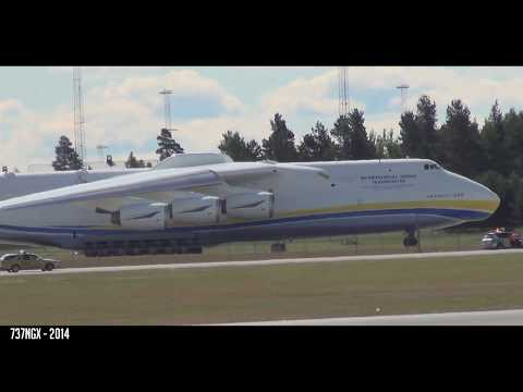 SHORTEST AN-225 TAKEOFF