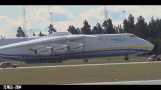 SHORTEST AN-225 TAKEOFF EVER?! - Antonov An-225 Crazy Takeoff from Oslo Gardermoen