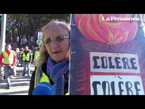 Près de 400 gilets jaunes mobilisés ce matin à Marseille