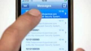 My Keypad iPhone™ App   Honeywell Security