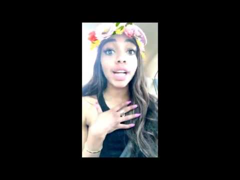 TEALA DUNN FIGHTS MAGGIE LINDEMANN (Snapchat)