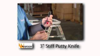 Warner Tools Putty Knives
