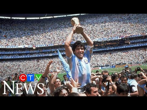 The life and career of Argentine soccer legend Diego Maradona