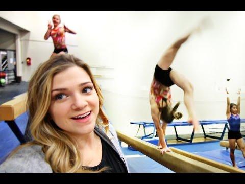 My First Day As A Gymnastics Coach!!