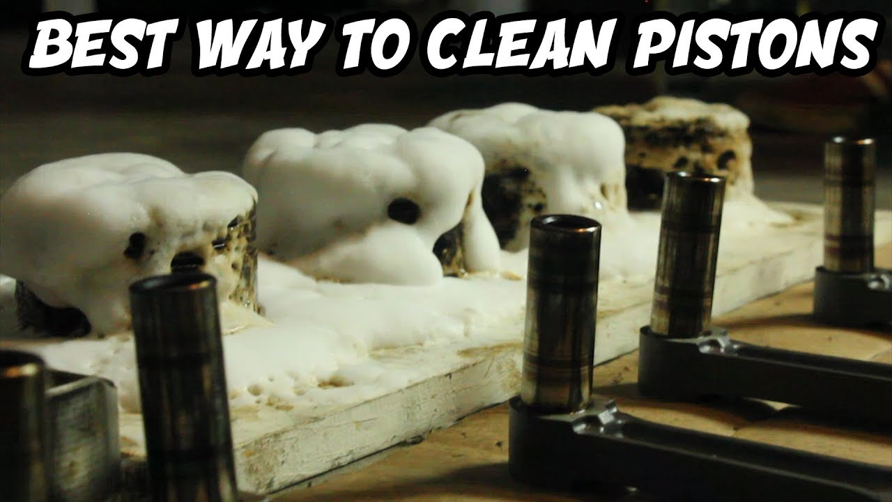 what is the best way to clean kitchen cabinets the 500hp budget build part 5 best way to clean pistons 28297