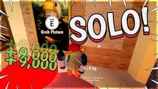*NEU* ROBBING THE MUSEUM SOLO | ROBLOX JAILBREAK