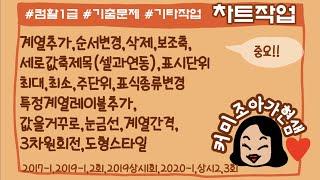 [32][컴활1급 실기]엑셀_차트_오피스2016__기출…