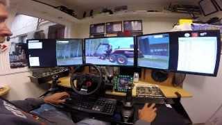 "Farming Simulator 3x 27"" LED. Testing my new edition of Ponsse Scorpion SO v1."