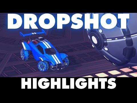 Rocket League | Dropshot Gameplay & Highlights