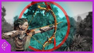 Why the Bow in Horizon Zero Dawn Feels SO Good | Game Mechanics Explained