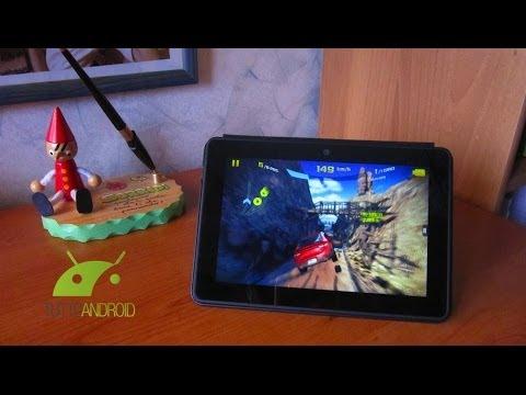 Kindle Fire HDX 7 Focus Gaming e Cover Origami da TuttoAndroid.net