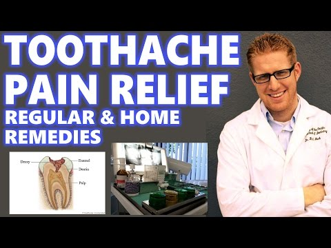 Root Canal Pain Relief Home Remedy