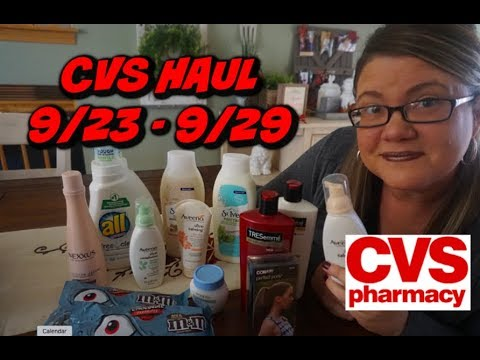 CVS HAUL 9/23 - 9/29 | FREE AVEENO FACIAL, 66¢ ST. IVES & MORE!