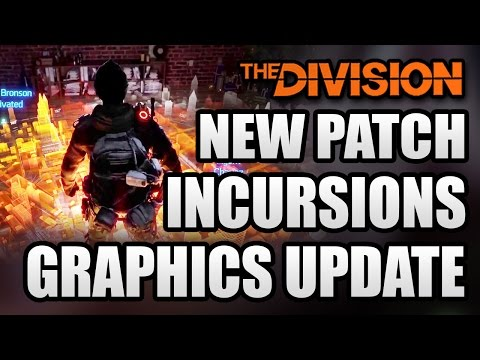 The Division News: New Patch! Incursion Details, Graphics Upgrade! Outfit and Clothing Sets