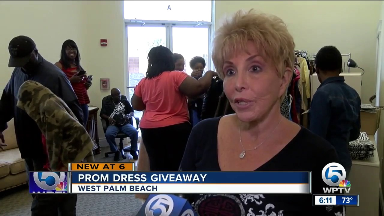 Prom Dress Giveaway In West Palm Beach Youtube