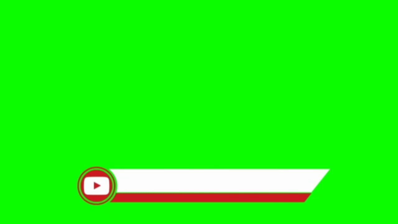Green Screen Youtube Logo Youtube