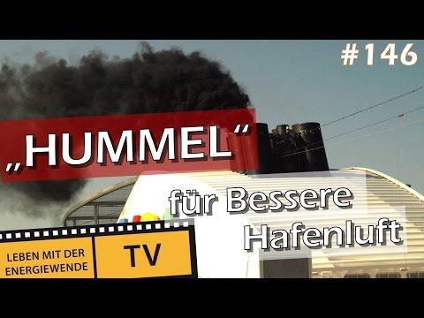 """""""HUMMEL"""" sorgt für bessere Hafenluft in Hamburg"""