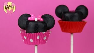 MICKEY & MINNIE MARSHMALLOW POPS - A Cupcakesncardio And Charliscraftykitchen Collaboration - Disney