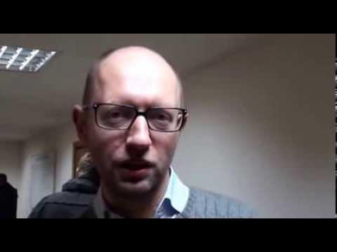 Arseniy Yatsenyuk (Batkivshchyna) addresses MaydanSF